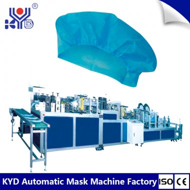 Talking about the importance of regular maintenance of doctor hat making machine