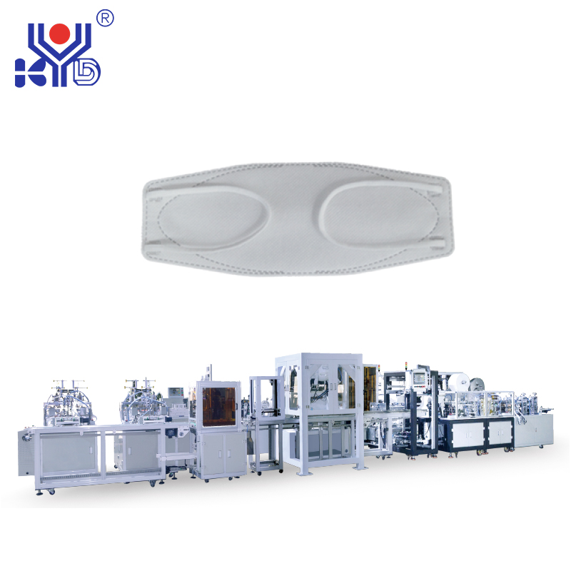 Full automatic mask machine manufacturers talk about precautions for N95 mask forming machine