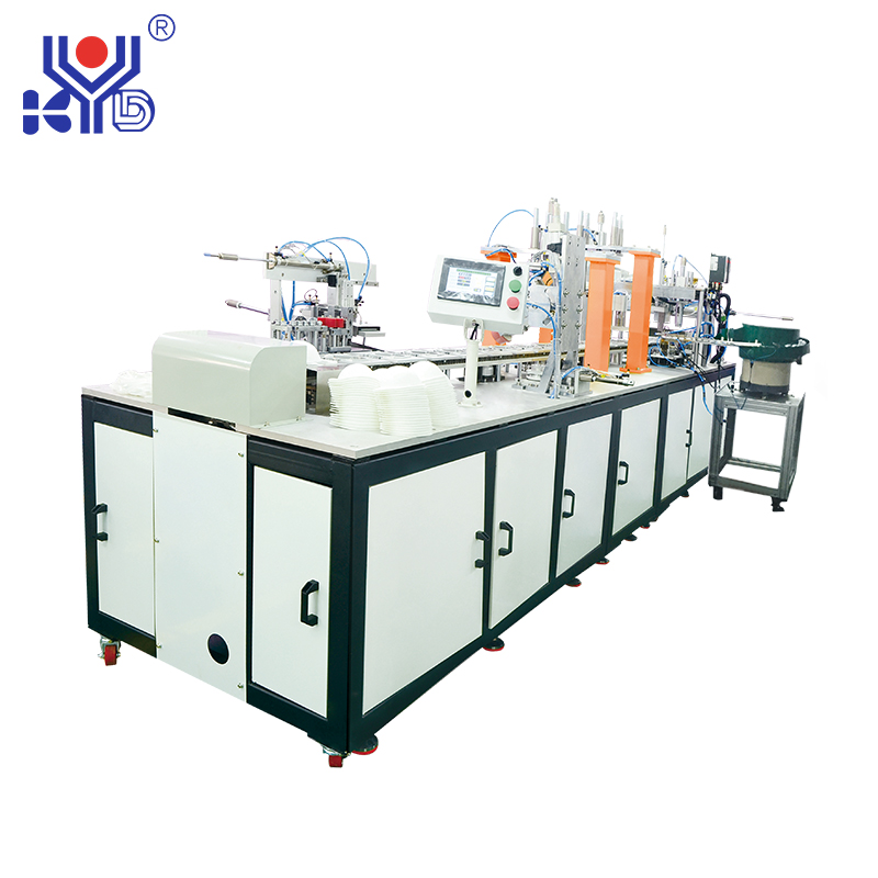 Disposable shoe cover machine manufacturers introduce the characteristics of cup mask mask machine